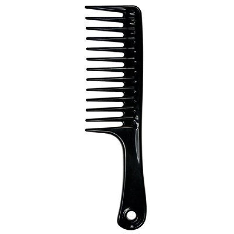 ホイップかまどユーザーLarge Tooth Detangle Comb Shampoo Wide Teeth Comb Hair Salon Shampoo Comb Unbreakable 9 1/2