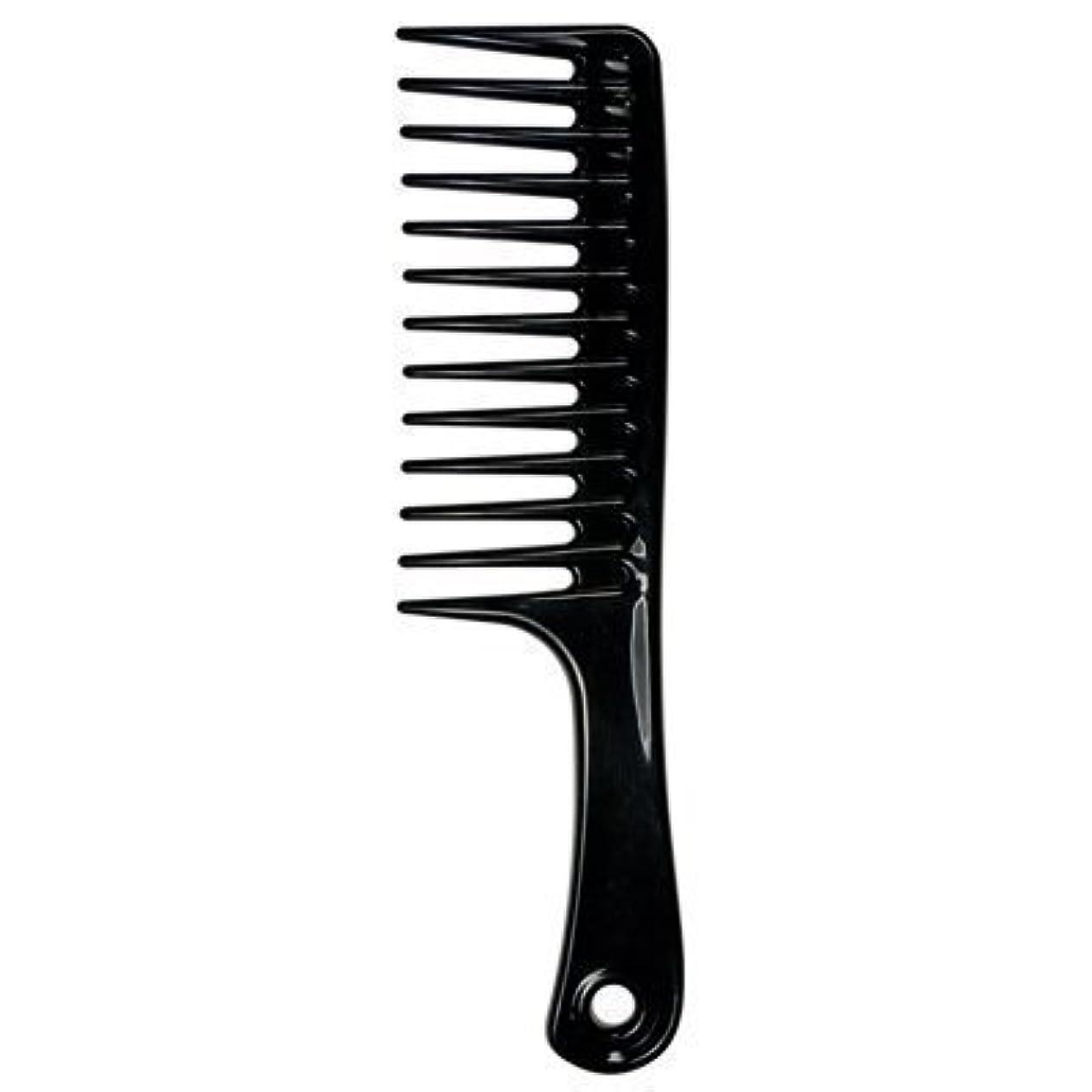 ピッチオリエンテーションブラザーLarge Tooth Detangle Comb Shampoo Wide Teeth Comb Hair Salon Shampoo Comb Unbreakable 9 1/2