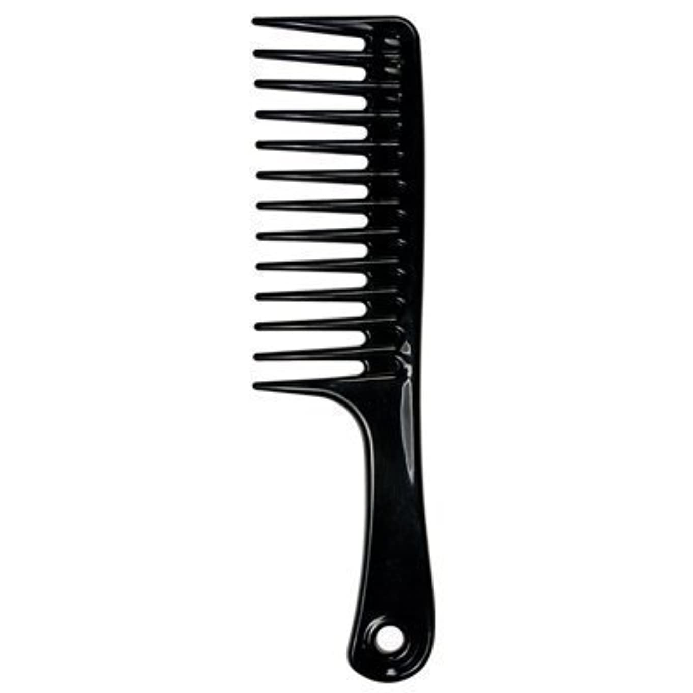 不純代数的エイリアンLarge Tooth Detangle Comb Shampoo Wide Teeth Comb Hair Salon Shampoo Comb Unbreakable 9 1/2
