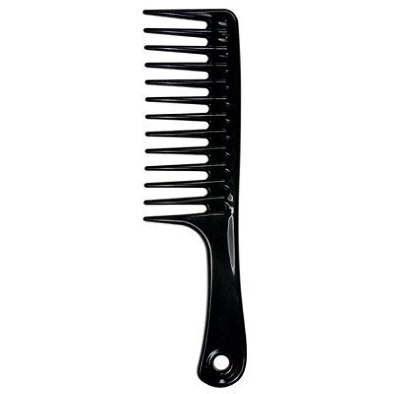 損傷注意子供達Large Tooth Detangle Comb Shampoo Wide Teeth Comb Hair Salon Shampoo Comb Unbreakable 9 1/2