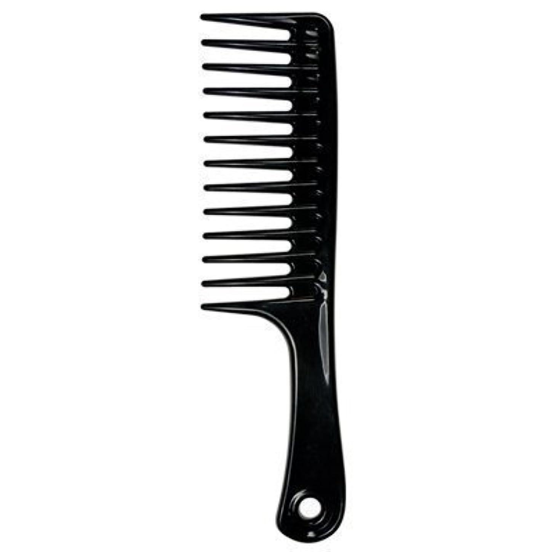 振るう顕著代わってLarge Tooth Detangle Comb Shampoo Wide Teeth Comb Hair Salon Shampoo Comb Unbreakable 9 1/2