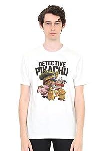 (グラニフ) graniph Tシャツ ポケモン集合 (映画「名探偵 ピカチュウ」) (ホワイト) メンズ レディース SS (g01) (g14) #おそろいコーデ
