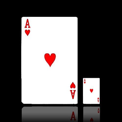 A4サイズの ビッグトランプ ビッグカーズ BIG CARDS ババ抜き 7並べ 大富豪 大迫力 プレゼント イベント EK-BIGCARD