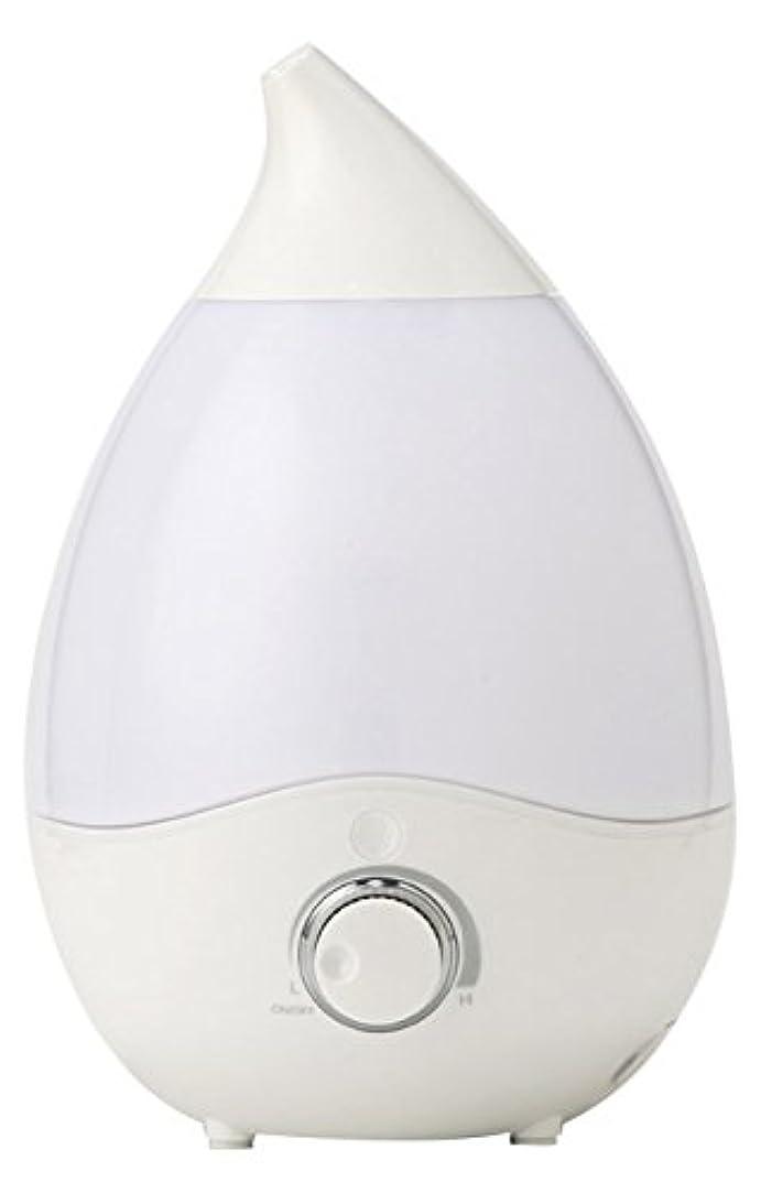 有効化インゲン傾向がありますVERSOS お部屋にうるおい 抗菌安全 超音波加湿器 アロマディフューザー 7色LEDグラデーション インテリアとしても VS-U20