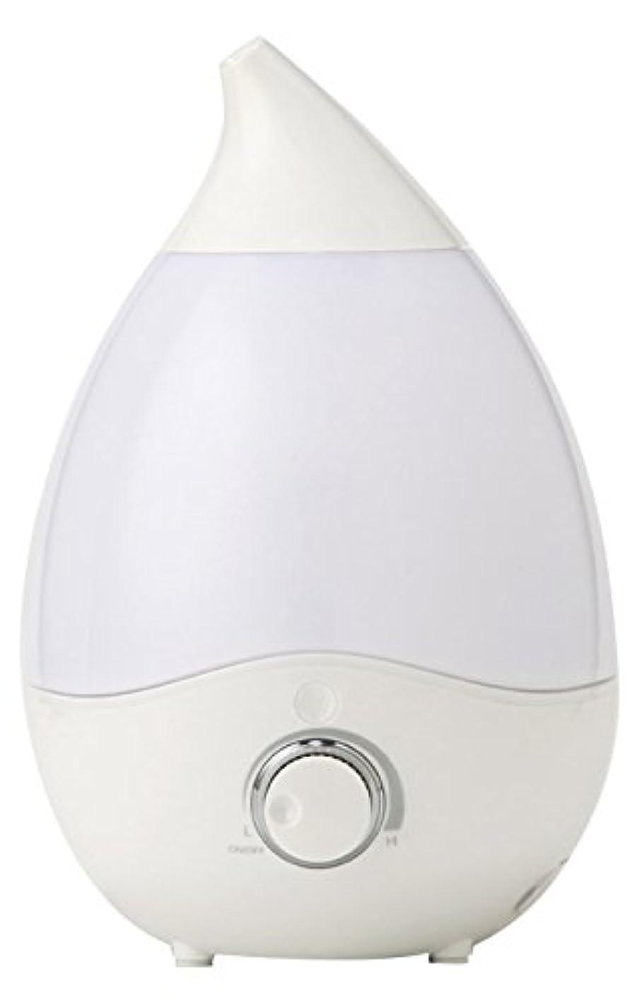 やる月ハリケーンVERSOS お部屋にうるおい 抗菌安全 超音波加湿器 アロマディフューザー 7色LEDグラデーション インテリアとしても VS-U20