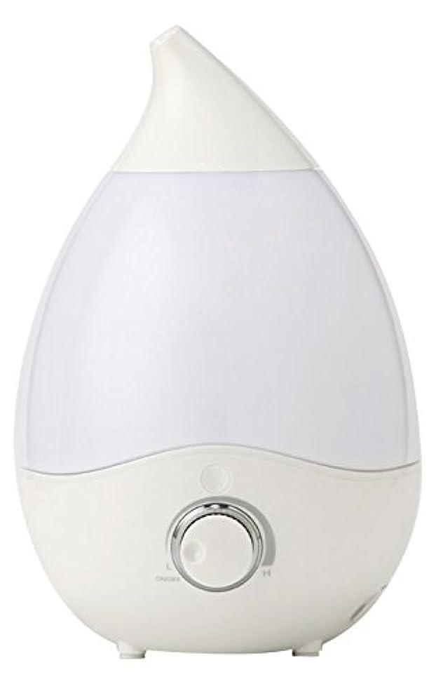 情報クリケット強いVERSOS お部屋にうるおい 抗菌安全 超音波加湿器 アロマディフューザー 7色LEDグラデーション インテリアとしても VS-U20