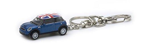 AUTODERIVE(オートドライブ) KEY CHAINS ミニクーパーS BLUE/UK ミニカ...