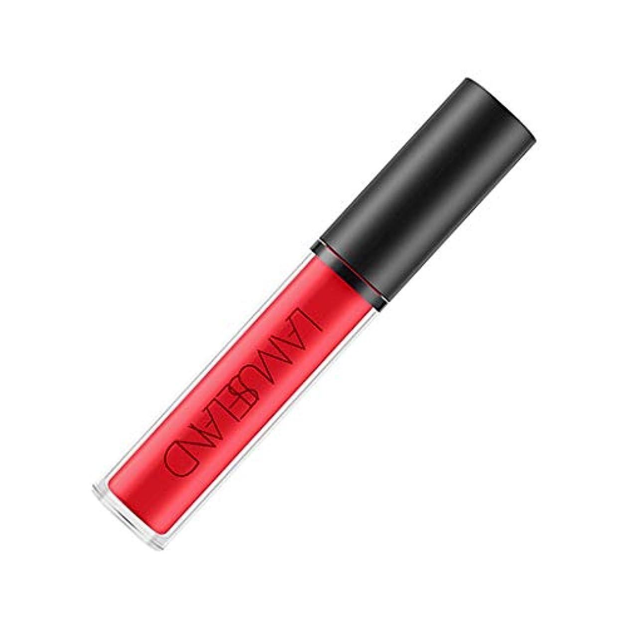 週末許容解釈無光沢のVelvetyの液体の口紅の女性のための防水唇の光沢の焦げ付き防止のコップ - チリ