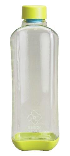 パール金属 水筒 1000ml 直飲み PCアクア ボトル グリーン ブロックスタイル H-6039