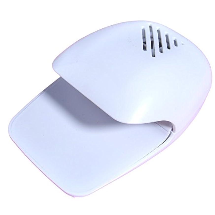 破壊的中古調停するXiAnShiYu ユニークモール 風で優しくネイルを乾かす ネイル乾燥機 シャイニーネイルドライヤー マニキュア用 乾燥爪