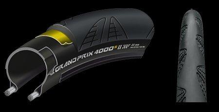 【正規代理店品】 Continental【コンチネンタル】 GrandPrix 4000 S II Bk-Bk skn fd 700x23C グランプリ4000S2 2本セット