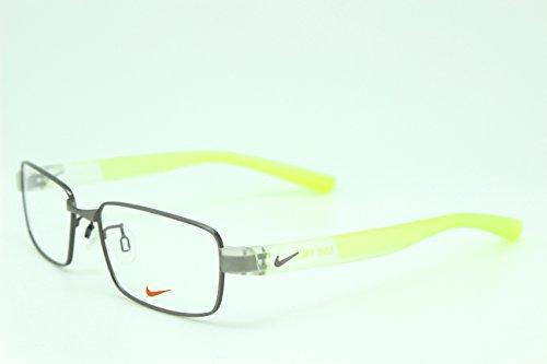 男性用 nike ナイキ パソコン用メガネ PCメガネ 8166 070 AF ブルーライトカット 紫外線カット 伊達メガネ 度無 透明レンズ アジアンフィット 加工済み 専用ケース付属