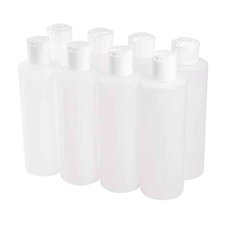レイアウト系譜ささいなPH PandaHall 約8個/セット 250ml ドロッパーボトル グルーボトル 液体 小分けボトル スクイズボトル 液体コンテナディスペンサー プラスチック容器 詰め替え 収納 プラスチック製 クリア 手芸用品