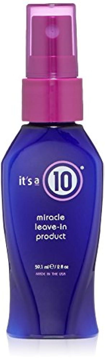 パスポートもろいあいさつIt's A 10 Miracle Leave-In 45 ml (2 oz.) (並行輸入品)