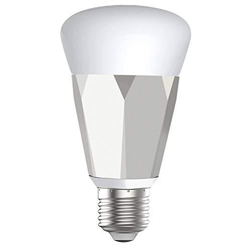 アレクサ電球 amazon alexa/google home対応 スマートフォンで光の明るさ、カラーなどを調整できるLED電球 ...