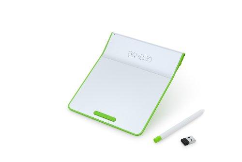 ワコム ペン付きタッチパッド ワイヤレス Bamboo Pad グリーン CTH300E