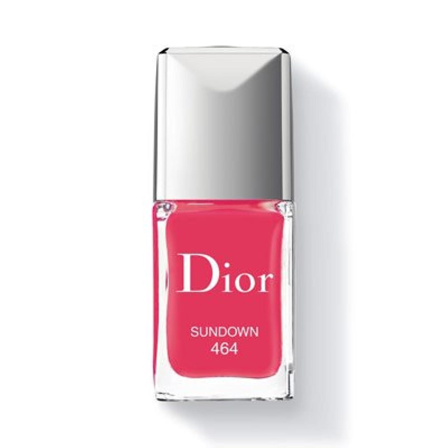 経験者隠された古代Christian Dior クリスチャン ディオール ディオール ヴェルニ #464 SUNDOWN 10ml [並行輸入品]