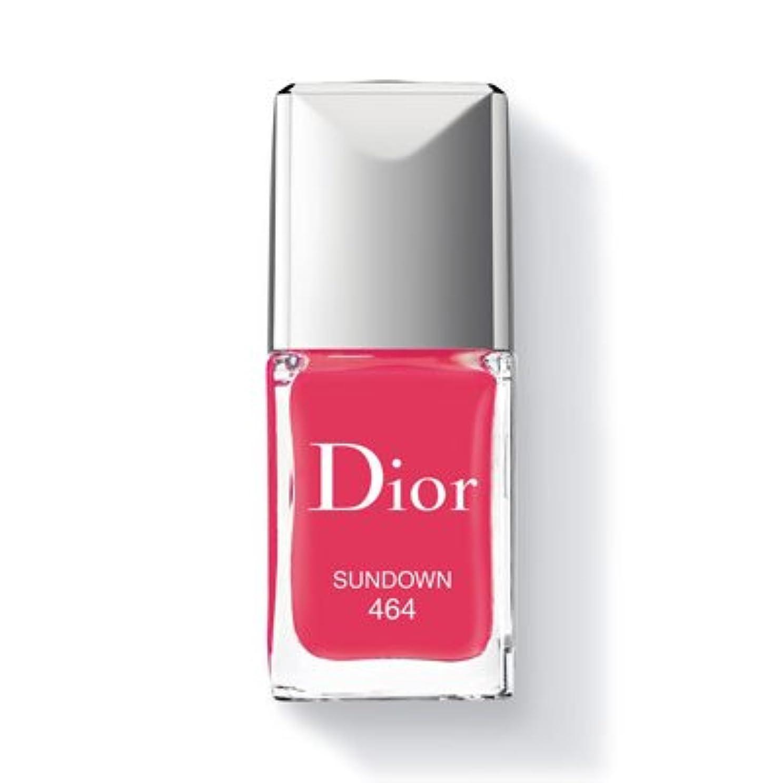 鮮やかなサイドボード時刻表Christian Dior クリスチャン ディオール ディオール ヴェルニ #464 SUNDOWN 10ml [並行輸入品]