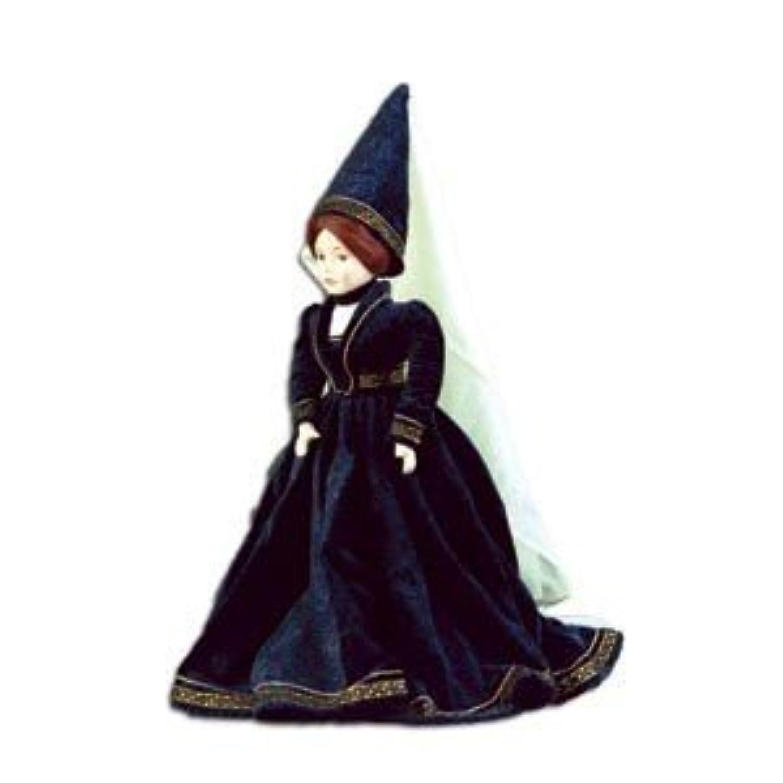 セラミックHistorical人形Clara、16.5インチ高