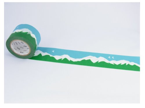 カモ井加工紙 マスキングテープ 35MM幅×10M巻 MTMINA11 Mountain
