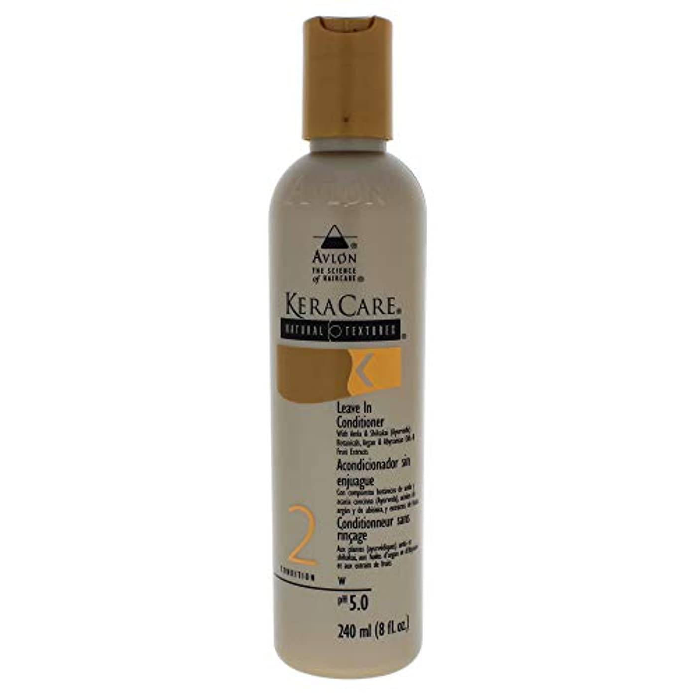 ゴネリル九時四十五分間隔Keracare Natural Textures Leave in Conditioner 8oz