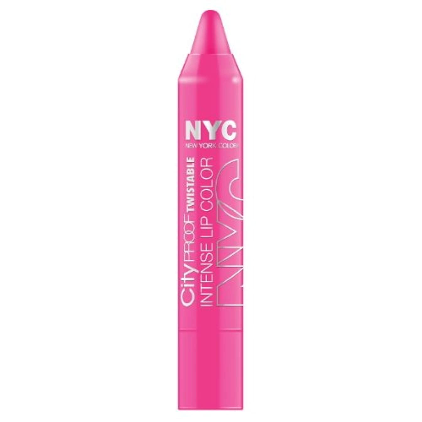 NYC City Proof Twistable Intense Lip Color - Fulton St Fuchsia (並行輸入品)