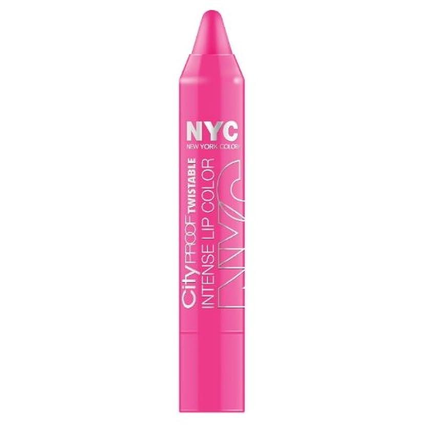 ファンシー寝具つかむNYC City Proof Twistable Intense Lip Color - Fulton St Fuchsia (並行輸入品)