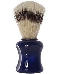 Shaving Brush with pig´s bristles, 10,0 cm, blue - Erbe Solingen