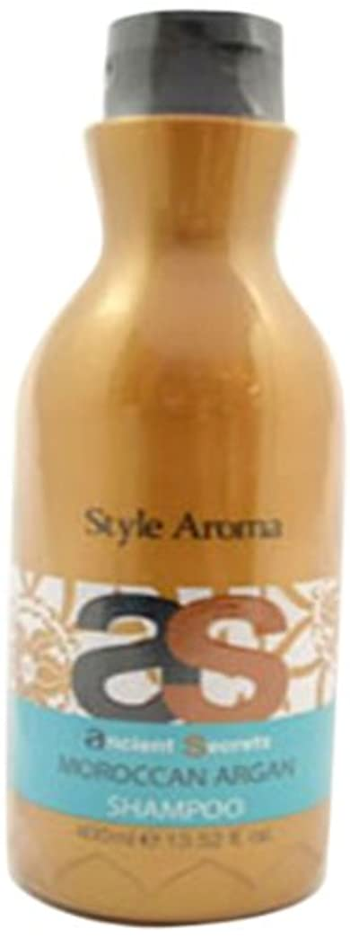 ぎこちない集計飲料スタイルアロマ エンシェント シークレッツ &K モロッカンアルガンシャンプー 400ml