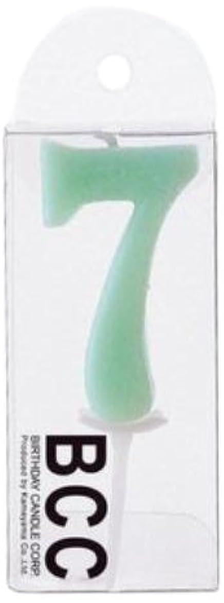 名義でブートジャニスナンバーキャンドルパステル7番 「 セージ 」 3個セット