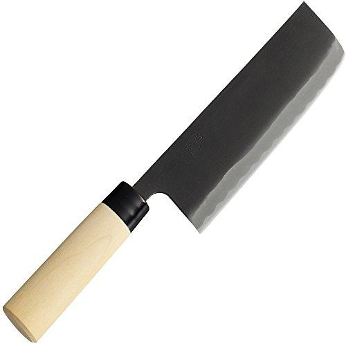 貝印 関孫六 銀寿 本鋼 和包丁 菜切 (西型) 165mm AK-5210