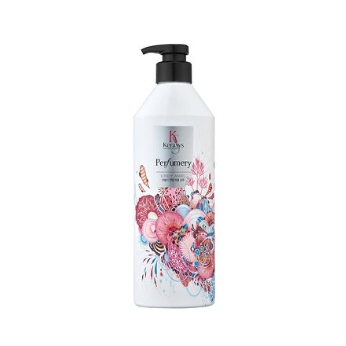 ハックメイエラフラッシュのように素早く[Kerasys] ラブリーエンジェル パフューメリパフュームシャンプー 600ml Lovely Angel Perfumary shampoo 600ml [海外直送品]