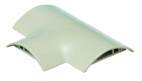 未来工業 ワゴンモール付属品チーズ OP8型 ミルキーホワイト 1個価格 OPT-8M