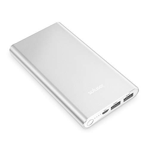 (2018年新版)Soluser モバイルバッテリー大容量急...