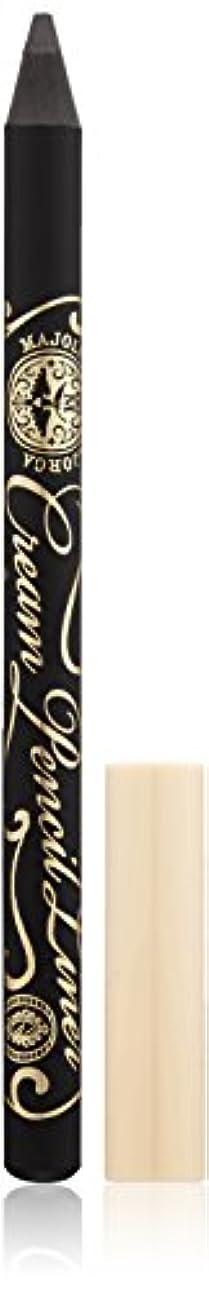 ロデオライナー有益マジョリカ マジョルカ クリームペンシルライナー BK999 ビターブラック (ウォータープルーフ) 1.4g