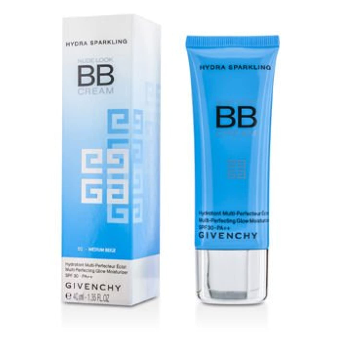 バルク聖職者技術的な[Givenchy] Nude Look BB Cream Multi-Perfecting Glow Moisturizer SPF 30 PA++ #02 Medium Beige 40ml/1.35oz