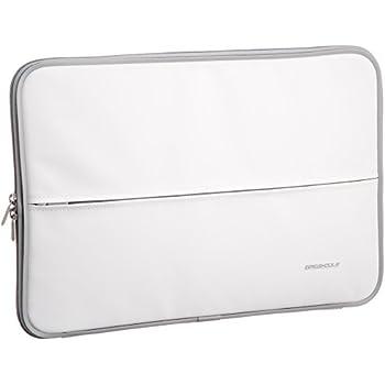 【2009年モデル】エレコム インナーバッグ 衝撃吸収 ZEROSHOCK Macbook対応 15.4インチワイド ホワイト ZSB-IB023WH