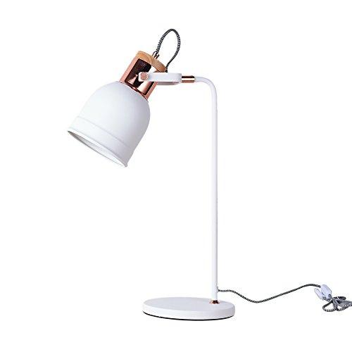 OYI 北欧 デスクライト 子供部屋 一人暮らし デスクランプ 勉強 卓上スタンド インテリア 間接照明 目に優しい 角度調整可能 書斎 寝室