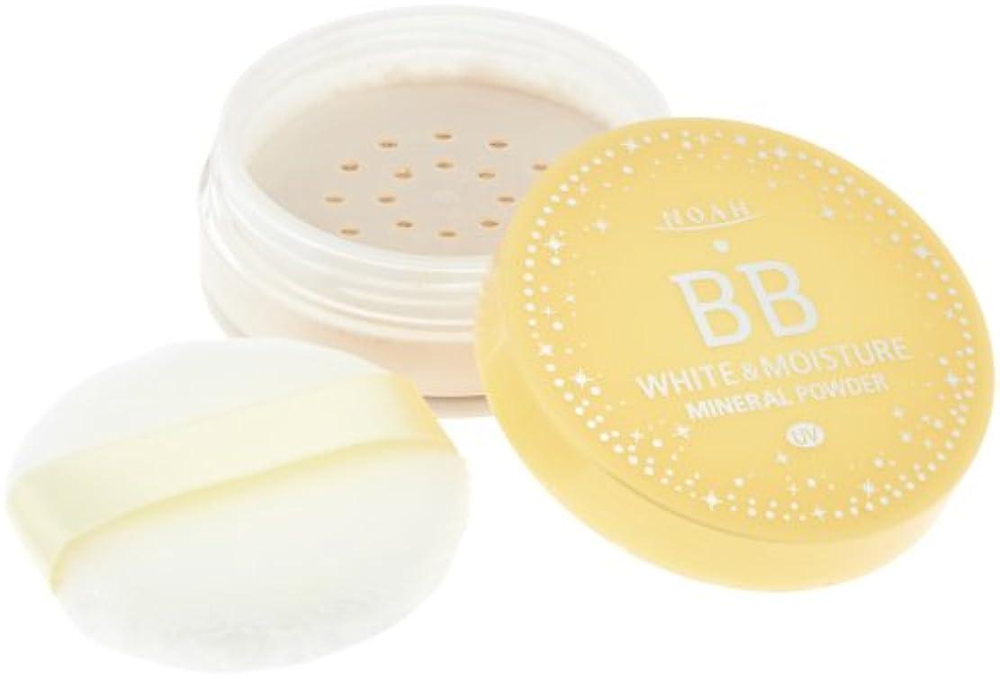 適度に国際ベンチKOSE コーセー ノア ホワイト&モイスチュア BBミネラルパウダー UV 01 (8g)