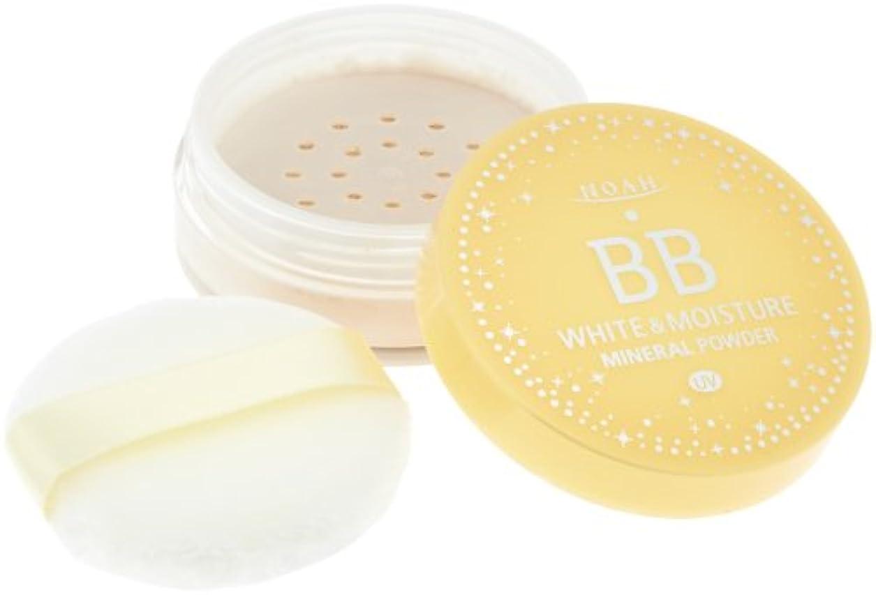 土器栄光レキシコンKOSE コーセー ノア ホワイト&モイスチュア BBミネラルパウダー UV 01 (8g)