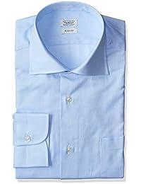 [フェアファクス] フレンチツイルワイドカラーシャツ メンズ 6706