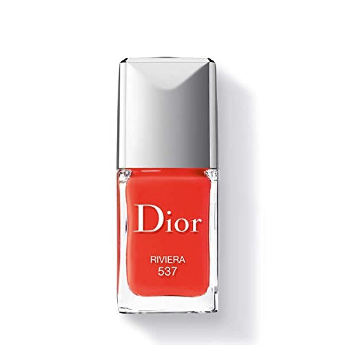 ファンドテクスチャー電池Dior ディオールヴェルニ #537 リヴィエラ 10ml [208031] [並行輸入品]