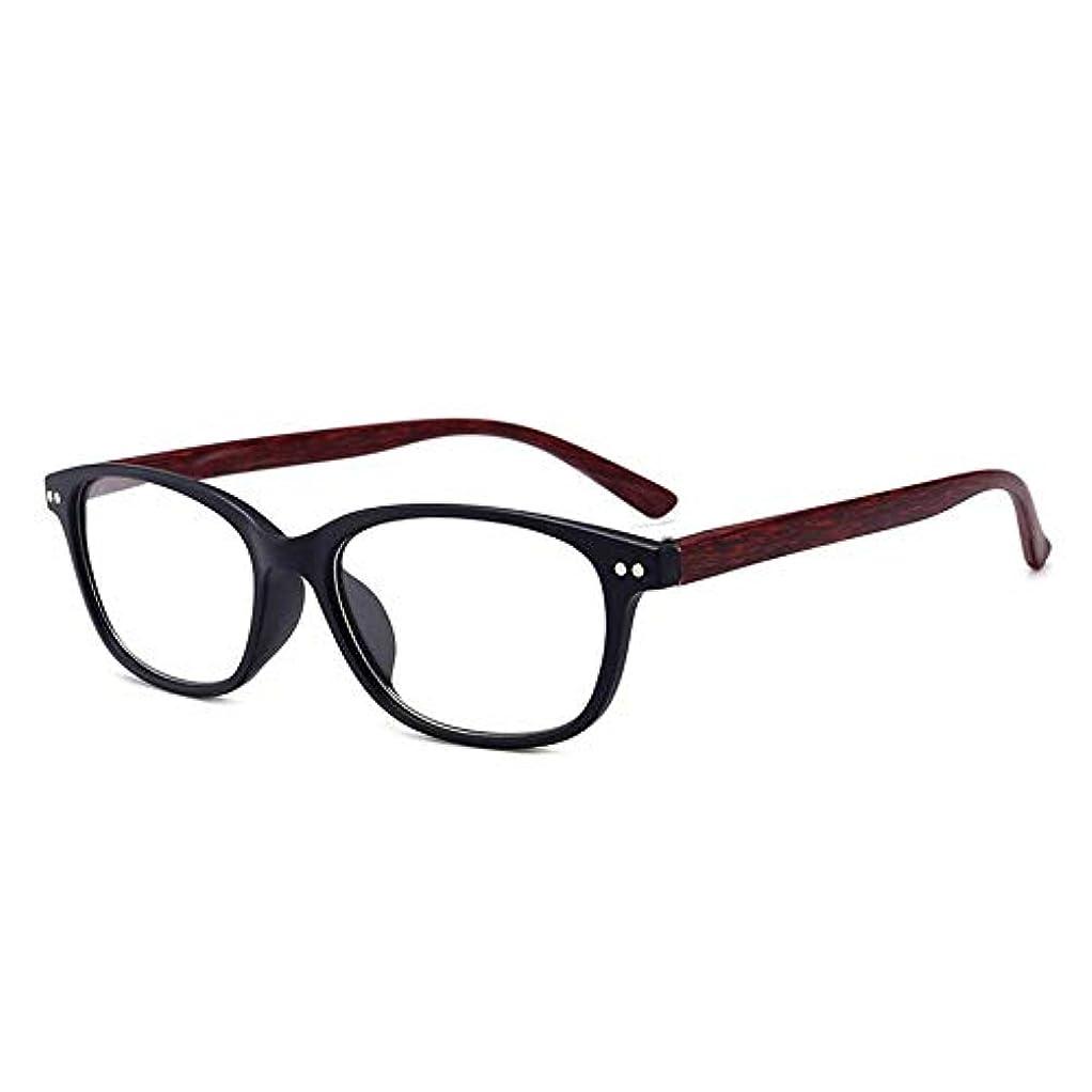 アーティスト型電話する18134老眼鏡視度+1.0から+4.0女性用男性フルフレームスクエアレンズ老視メガネ超軽量抗疲労-レッド150