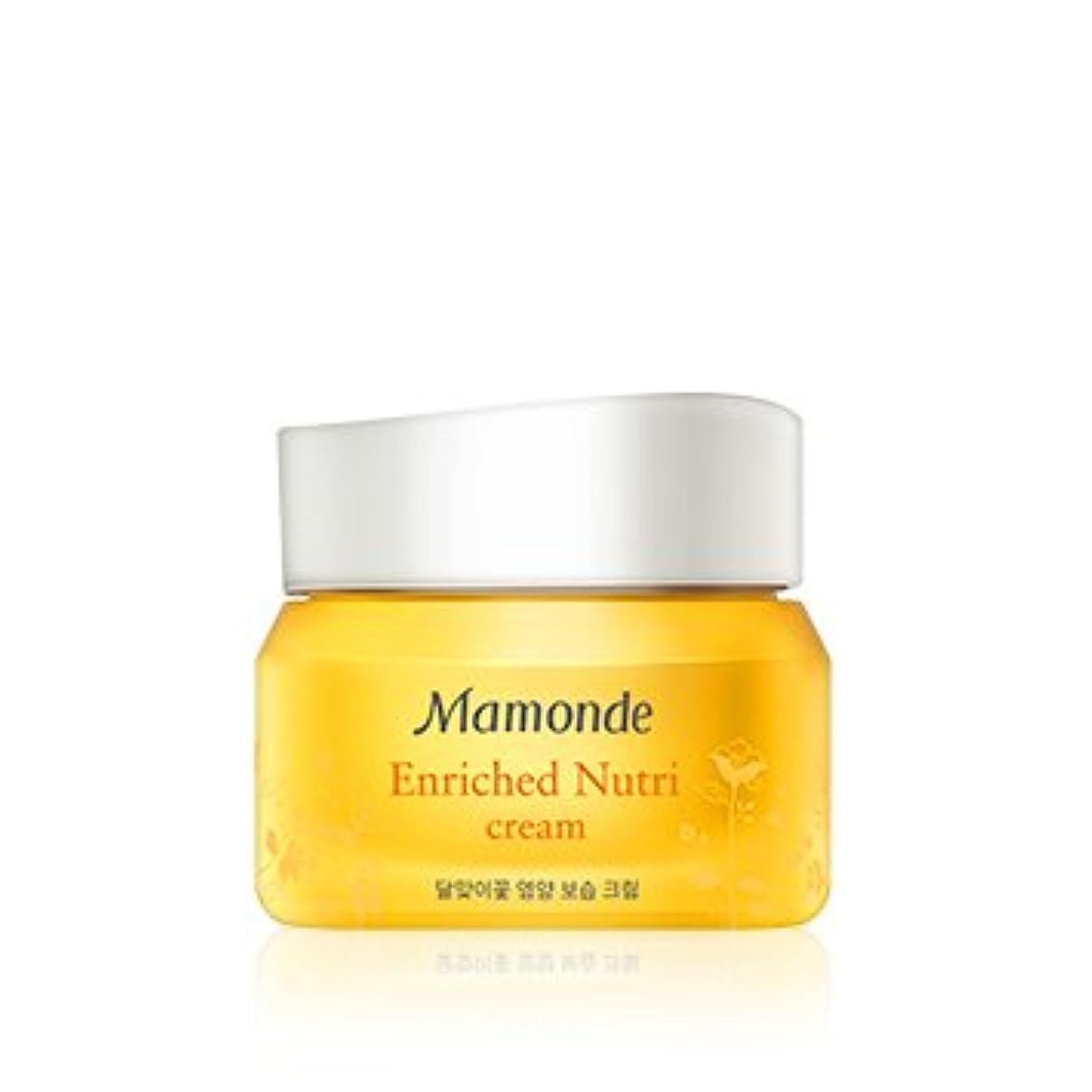 人聖域神[New] Mamonde Enriched Nutri Cream 50ml/マモンド エンリッチド ニュートリ クリーム 50ml [並行輸入品]