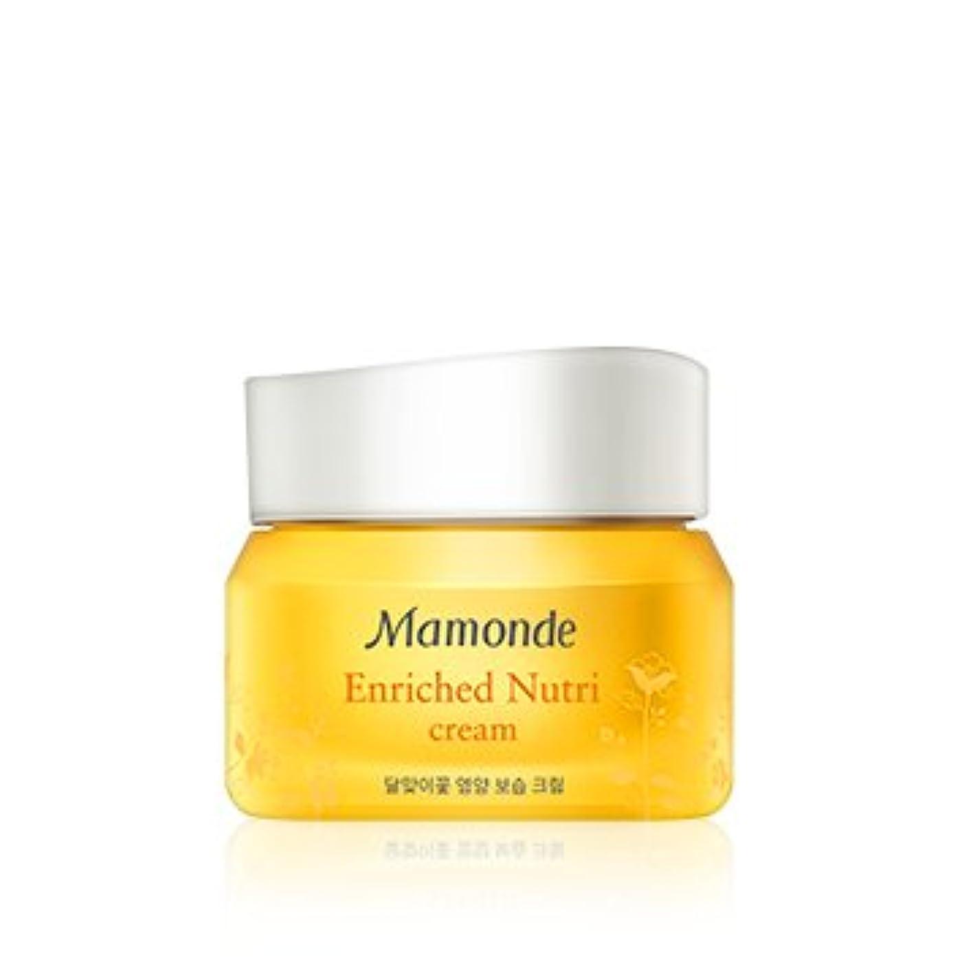 酸素調停者ドナウ川[New] Mamonde Enriched Nutri Cream 50ml/マモンド エンリッチド ニュートリ クリーム 50ml [並行輸入品]