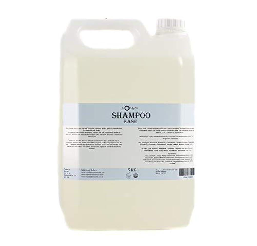 心配肩をすくめる詩Shampoo Base - 5Kg