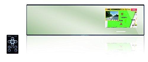 セルスター レーダー探知機 AR-W93GM 日本製 3年保証 GPSデータ更新無料 OBDII対応 フルマップ ガリレオ衛星対応 逆走警告&高速道逆走注意エリアを収録 300mm ミラー型 AR-W93GM
