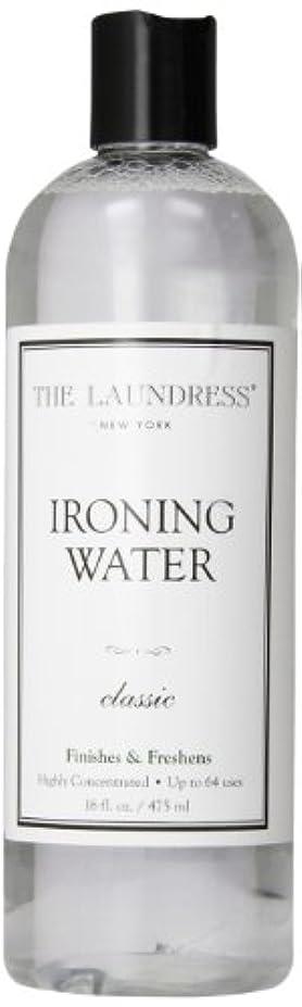 キッチン証明するリボンTHE LAUNDRESS(ザ?ランドレス)  アイロンウォーター classicの香り 475ml