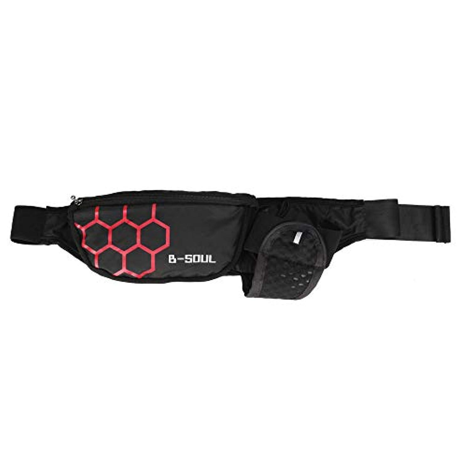 延ばすダイヤモンドスロット多機能 自転車後部 ウエストバッグ サイクリングバッグ スポーツポケット やかん付き