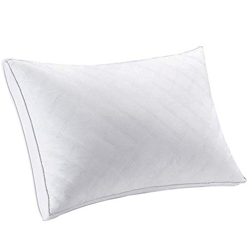 Jepson 安眠 快眠枕 高反発 高さ調節可能 通気性 ホテル仕様 丸洗い立体構造 43×63cm ホワイト